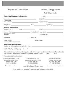 our Referral Form for PCP`s