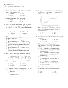 Unit 8 PRACTICE Test - with Answers