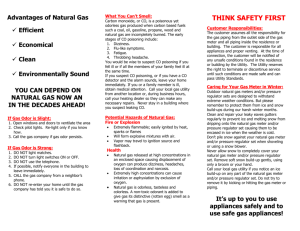 """About Natural Gas"" brochure"