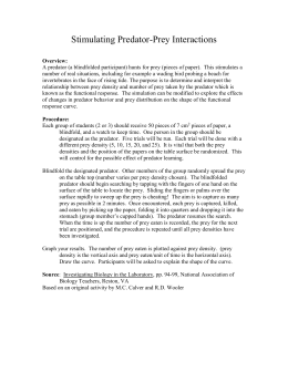 the four hypotheses explaining the effects of wolf predation on prey population The studies in this volume extend our understanding of the effects of pre- dation  on  (4) what problems arise when using comparisons between populations to  assess the  of a prey population holding all anti-predator strategies (both  behavioral  the effect of wolf predation and snow cover on musk-ox group  size.