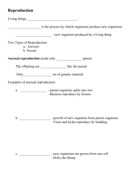 Biology 5.4 asexual reproduction answers to logo
