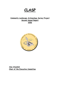 Archaeological Director`s Report 2006
