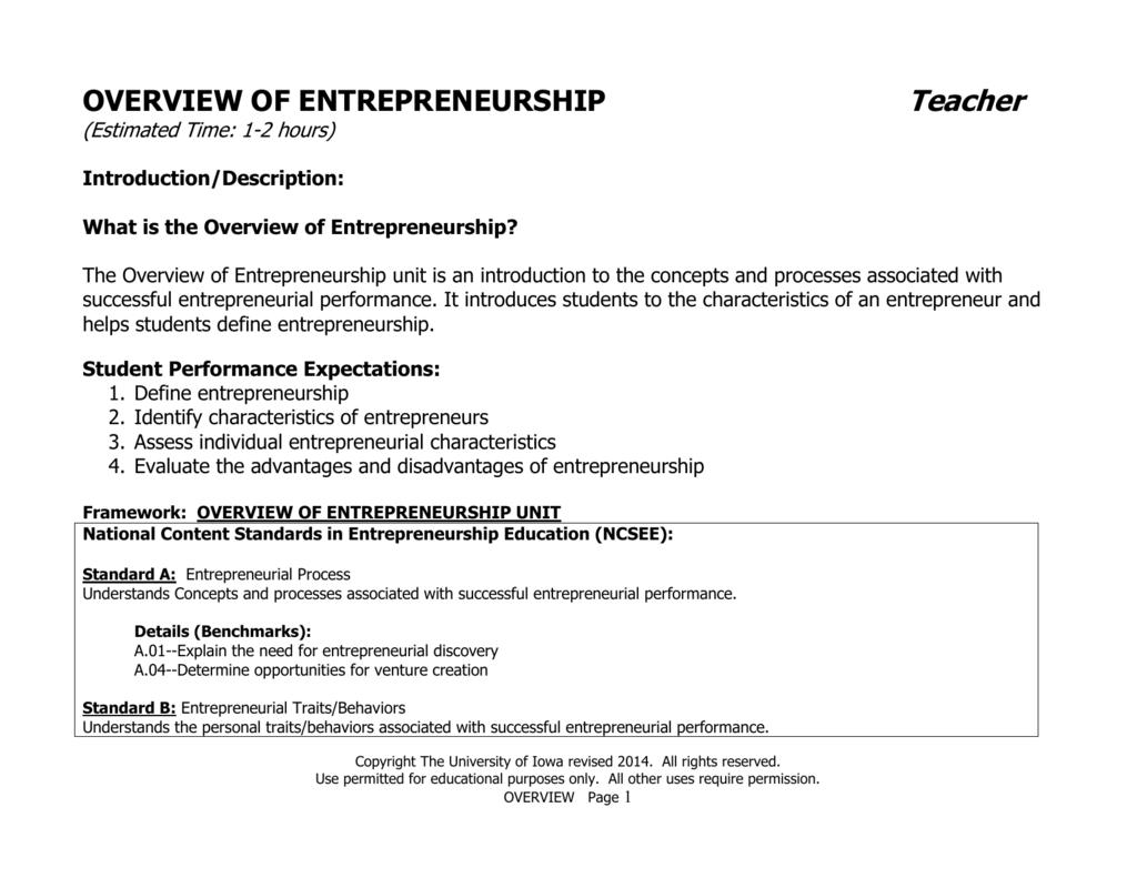 Best Schools For Entrepreneurship