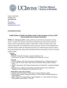 Health Care Conference Release Final