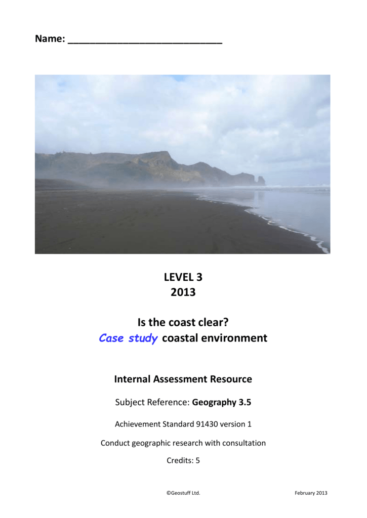 3 5 Research assessment - coastal