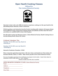 Open Hearth Cooking Classes at the John Bishop House Museum