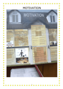 Motivation- Poster Fair