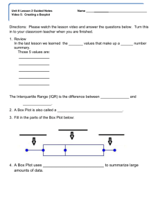 Unit 8 Lesson 2 Video 5 guided notes
