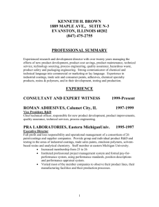 professional summary - KHB Consulting Services