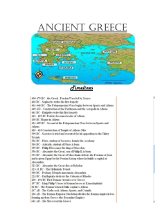 Ancient Greece - Holy Rosary Website