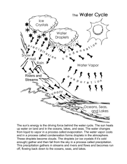 Water cycle worksheet watercycleworksheetc snc1p0 the water cycle package ccuart Images