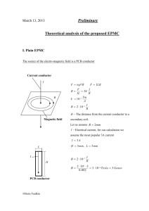 Theoretical analysis of the proposed EPMC