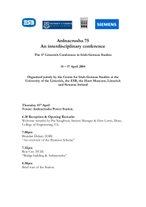 Ardnacrusha 75 - University of Limerick