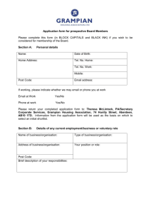 Application form for prospective Board Members