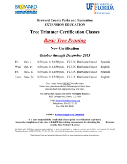 Tree Trimmer Classes