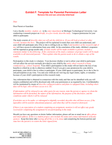 template for parental permission letter