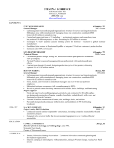 Stanford Sample Resume