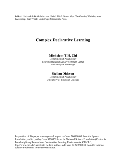 handbook_chapter_with_din - Pittsburgh Science of Learning
