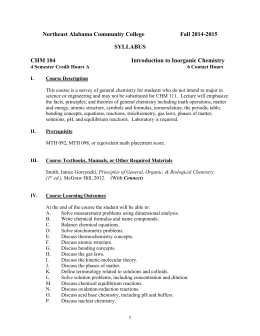 acs general chemistry exam second rh studylib net ACS Gen Chem Exam 1 acs inorganic chemistry exam study guide