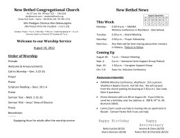 New Bethel Congregational Church