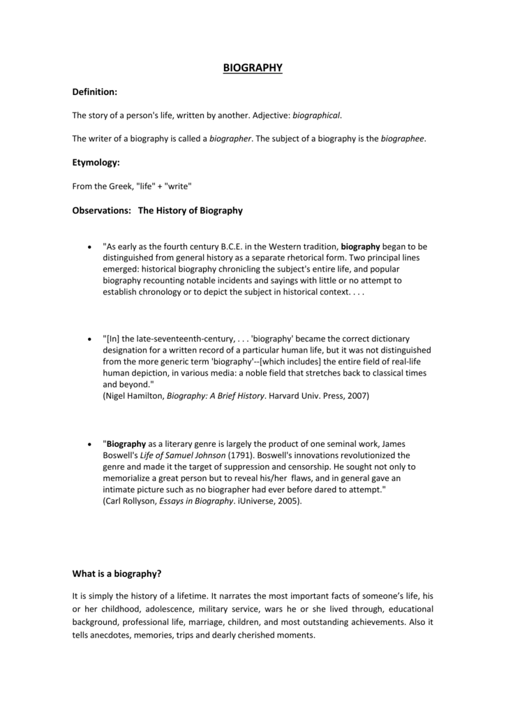 Essay About School Life  Descriptive Essay Conclusion also Red Scare Essay What Is A Biography Sample Essay For Elementary Students