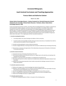 Inuit-Centred Curriculum and Teaching Approaches