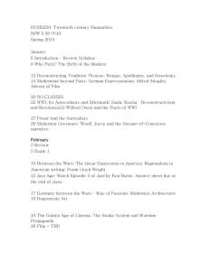 Course Outline SPRING 2014