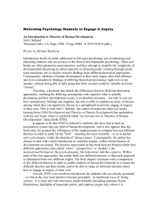 Motivating Psychology Students to Engage in Inquiry