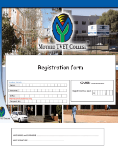 our Application for Registration Form HERE