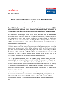 Read more - Allianz Global Assistance