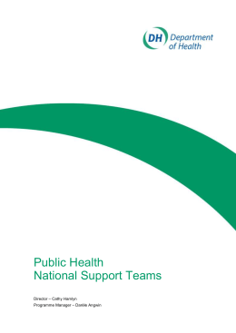 National Support Team Alcohol Harm Reduction (doc