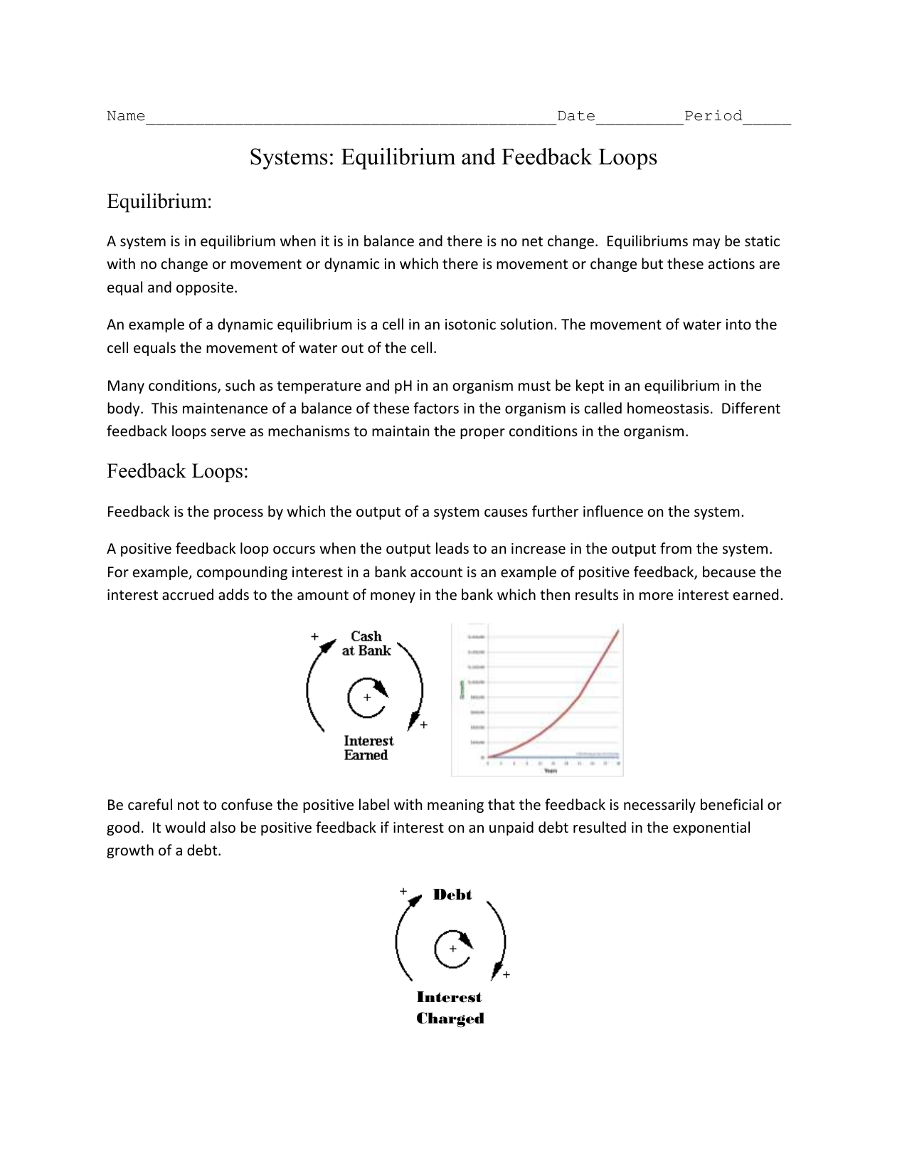 examples of static and dynamic equilibrium