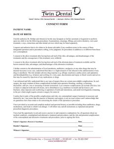 New Patient Consent Form