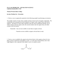 Chem 212 – In-class problems – Chromatography set #1