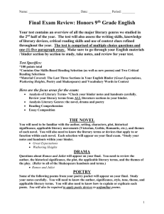 Course Information Sheet