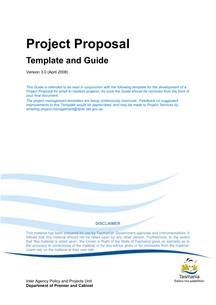 Project Proposal Template And Guide V3 0