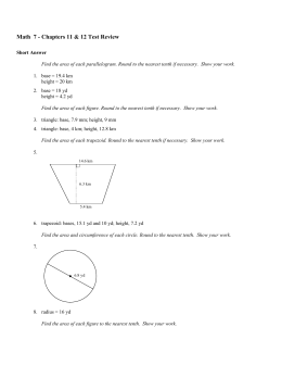 Chapter 25 Nuclear Chemistry Practice Test Answer Section