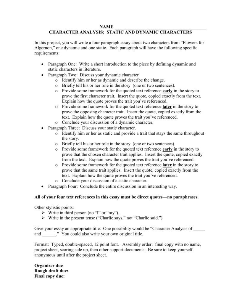 flowers for algernon 5 paragraph essay Free coursework on flowers for algernon from essayukcom, the uk essays company for essay, dissertation and coursework writing.