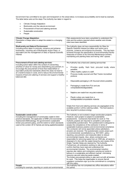 Green in Government Transparency Commitments (Word document