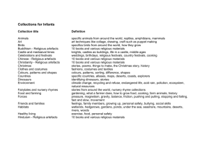 project collections for infants