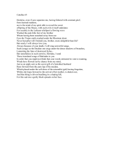 Catullus 65 translation