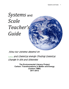 Systems and Scale Teachers Guide
