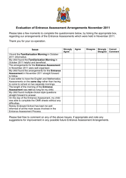 Evaluation of INSET Programme August 2007