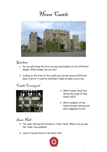 Hever Castle - Primary Resources