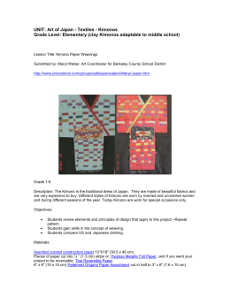 UNIT: Art of Japan - Textiles