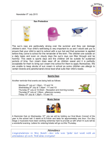 Newsletter for 6 July 2015 doc - St. Joseph`s RC Primary School