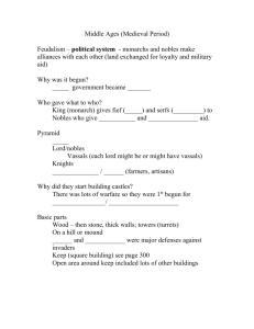 Middle Ages Notes - Fort Thomas Independent Schools