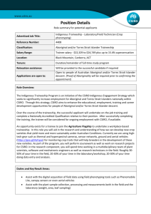 Recruitment - Position Details - role summary for potential