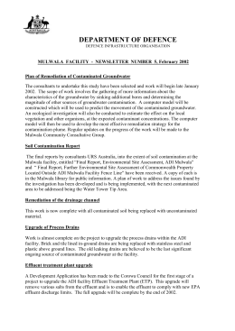 Mulwala Newsletter No 5