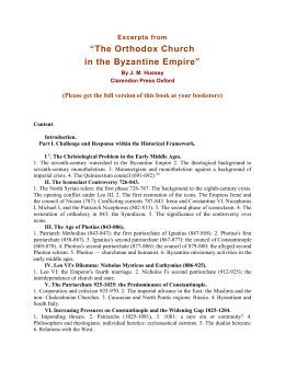 OXFORD HISTORY OF THE CHRISTIAN CHURCH
